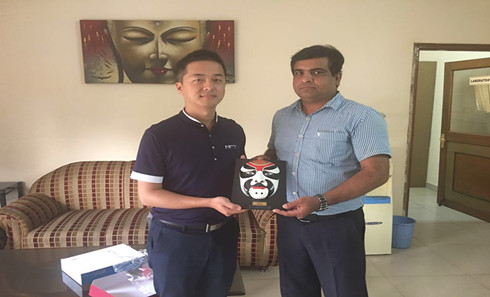 【中国水处理企业赴印度考察一行】代表团