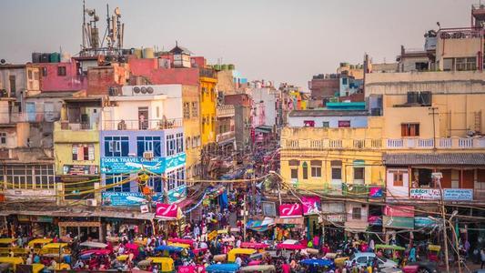 极具区域风采的各类印度集市