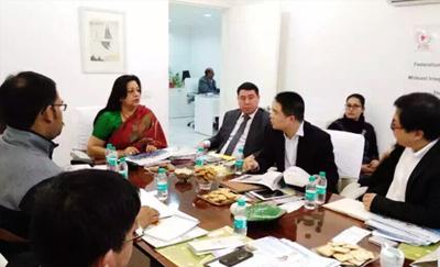 印度钢铁考察团、印度耐材考察团进军印度市场